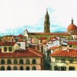 Blick vom Palazzo Pitti